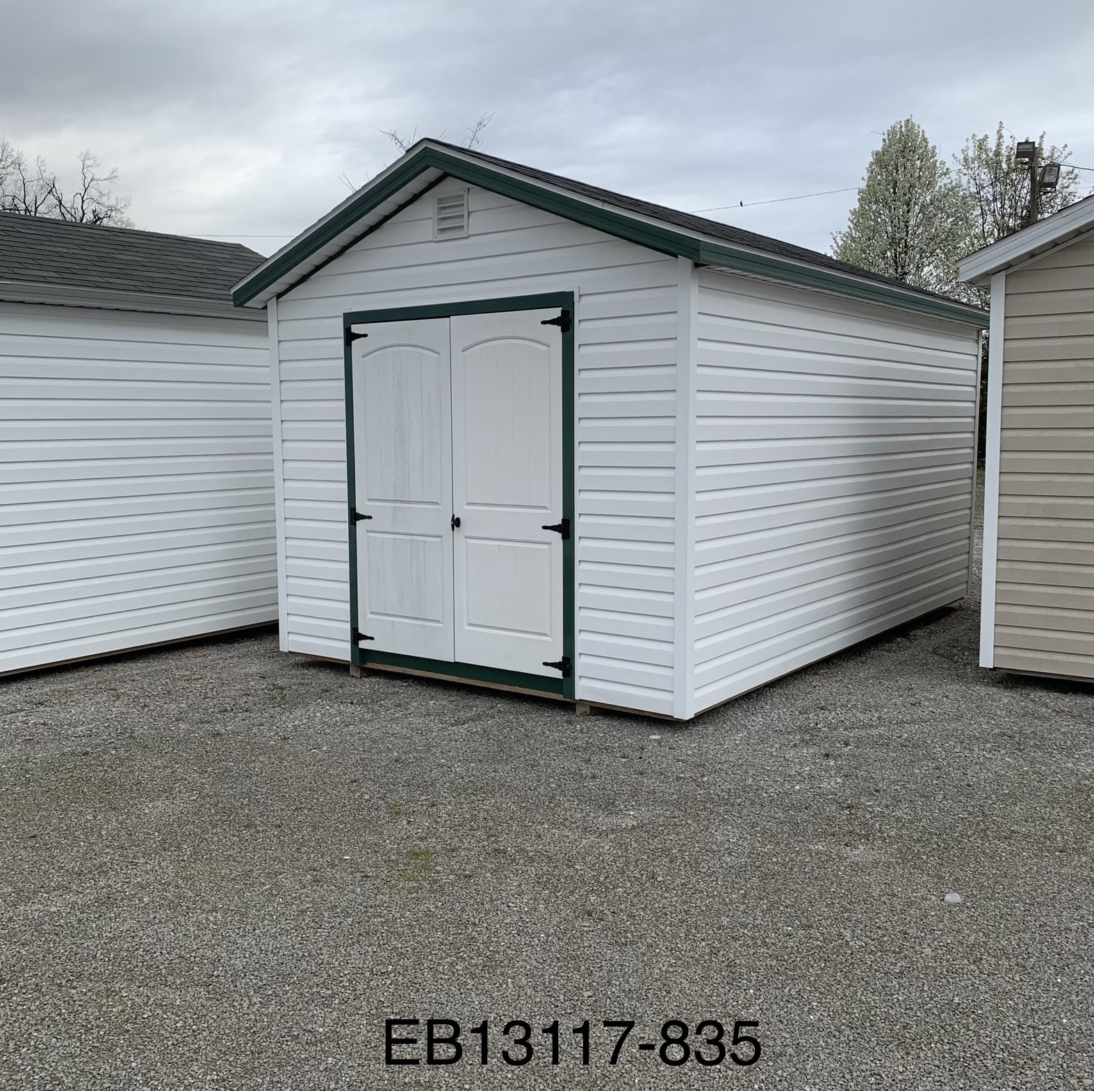 10x16 Ranch Storage Building in KY - Esh's Utility Buildings