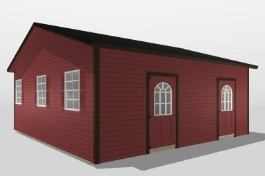 A modular cabin in Kentucky
