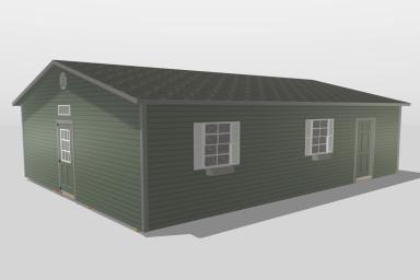 A modular cabin in Tennessee