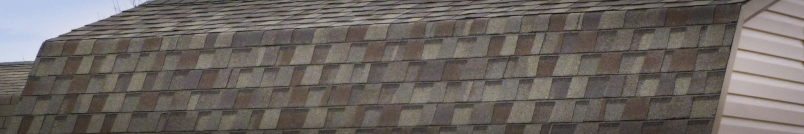 Dimensional shingle roofing for custom sheds in KY and TN