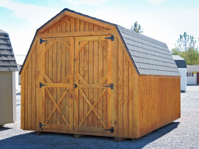 A barn-style shed in Kentucky