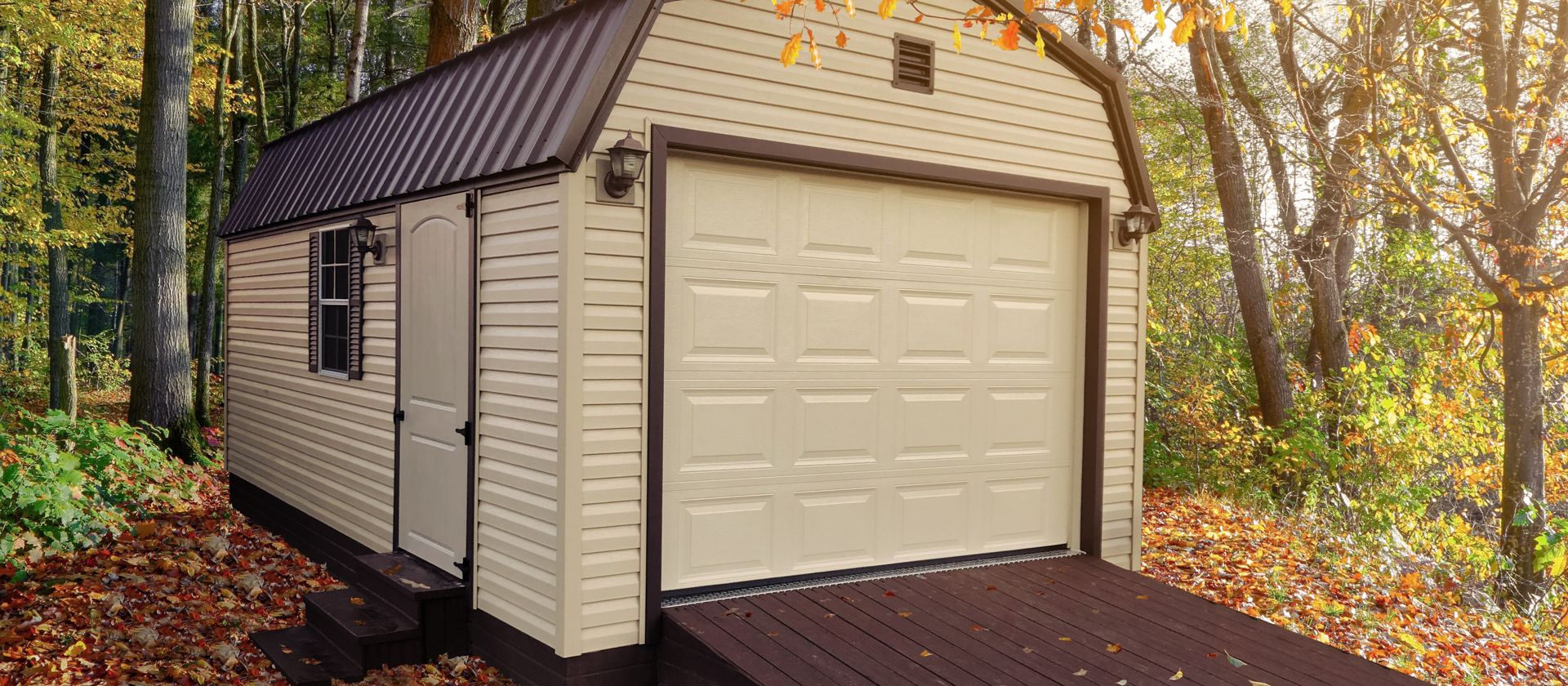 A portable garage for sale in KY and TN