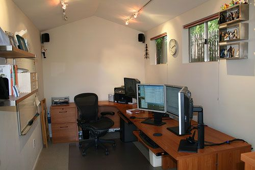 An office shed idea