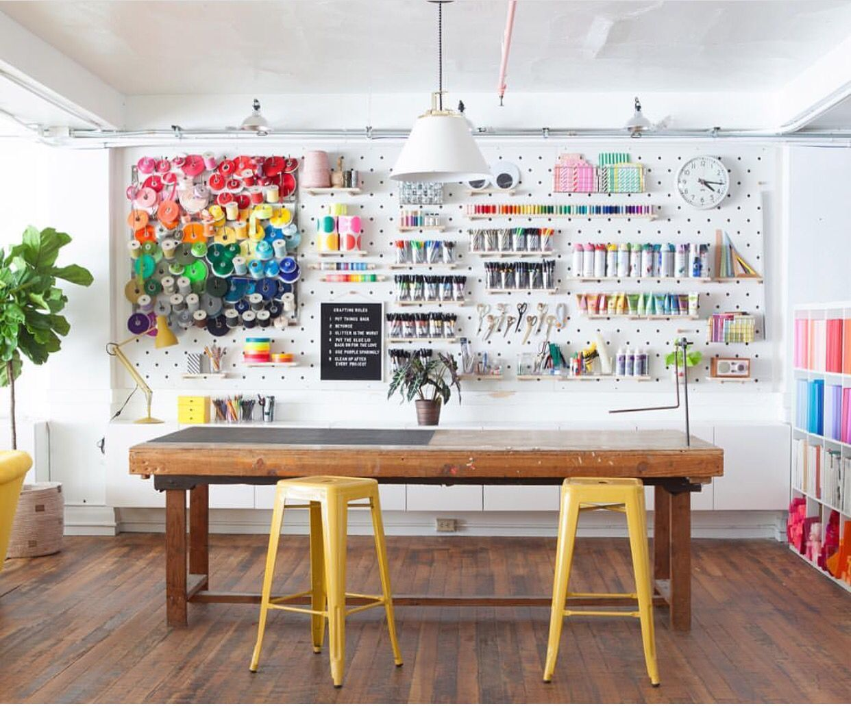 craft studio shed for business idea