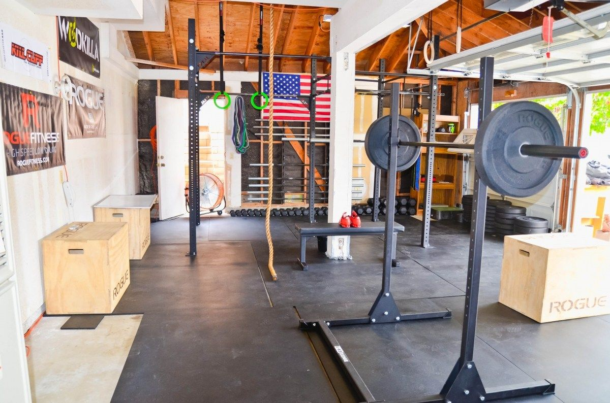 shed for personal training business