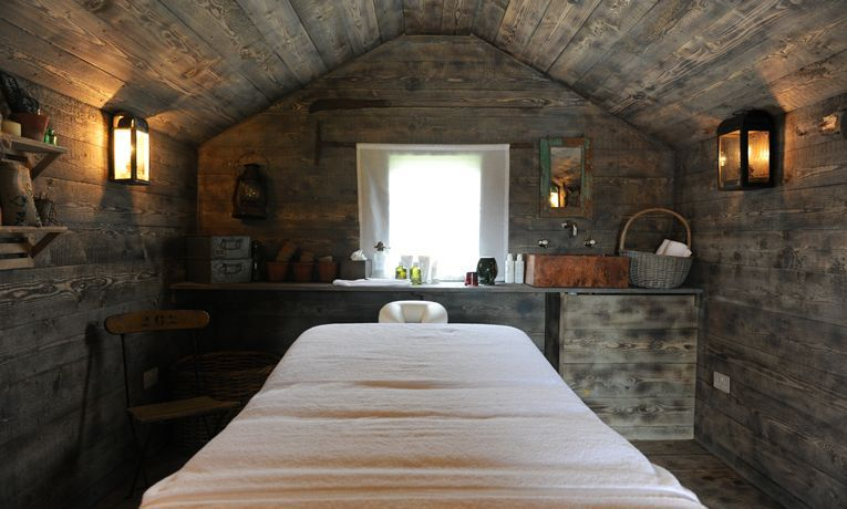Idea for massage therapy business in shed