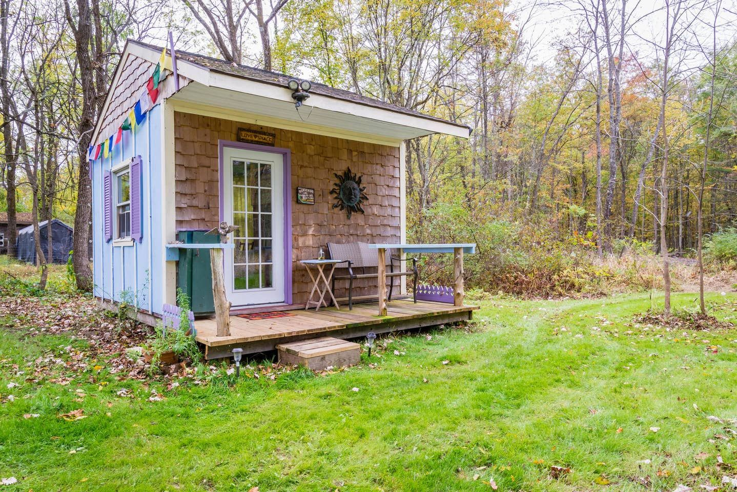 A love shack for shed living in NY