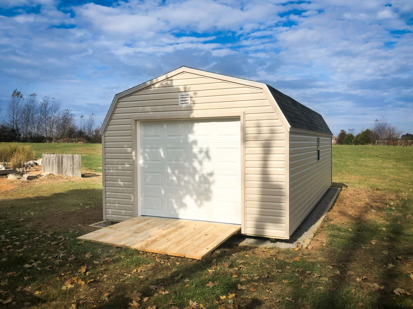 A garage shed near Albany, KY