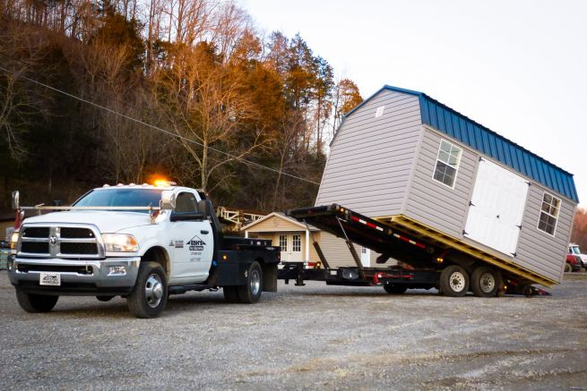 delivery of a shed for sale in russellville ky
