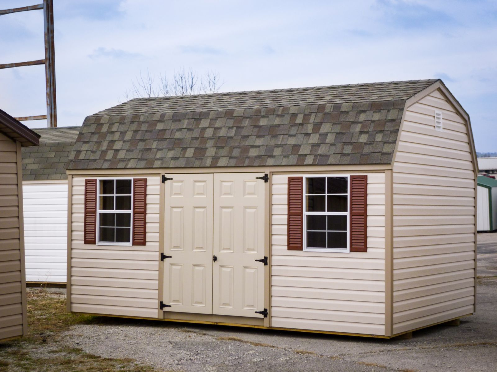 lofted storage shed for sale in lafayette tn
