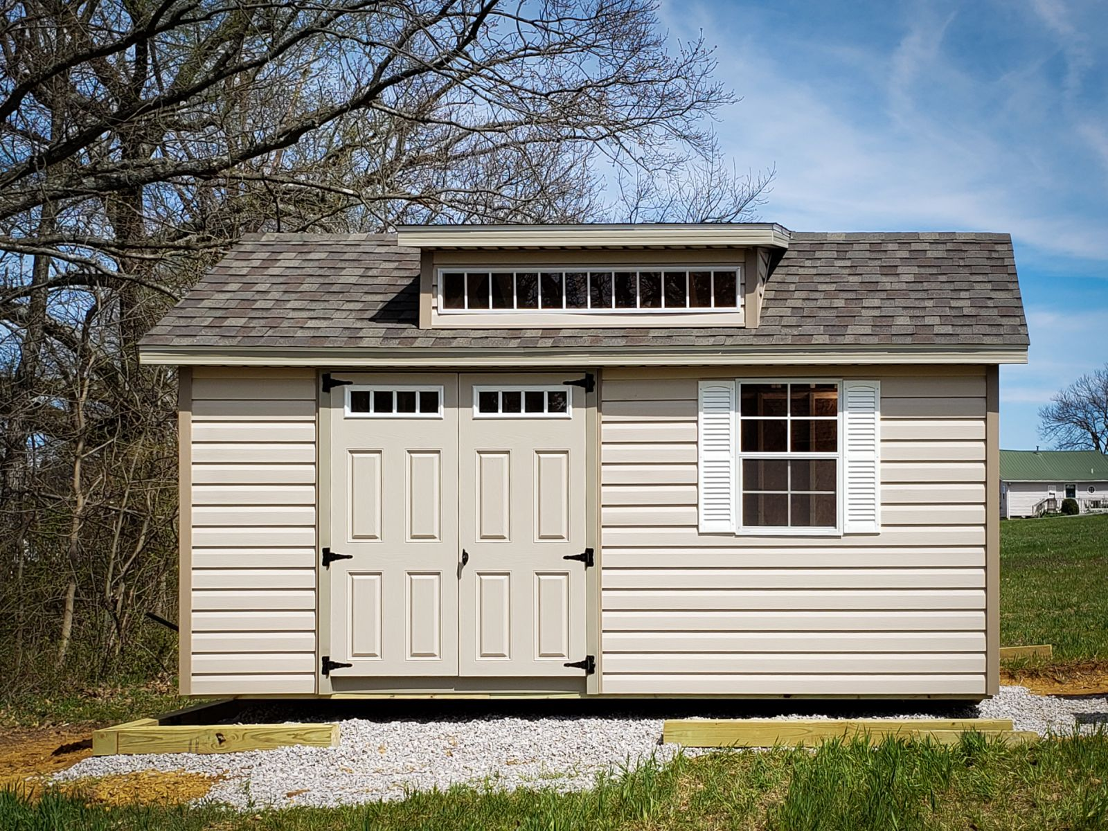 A storage shed for sale in Bowling Green, KY