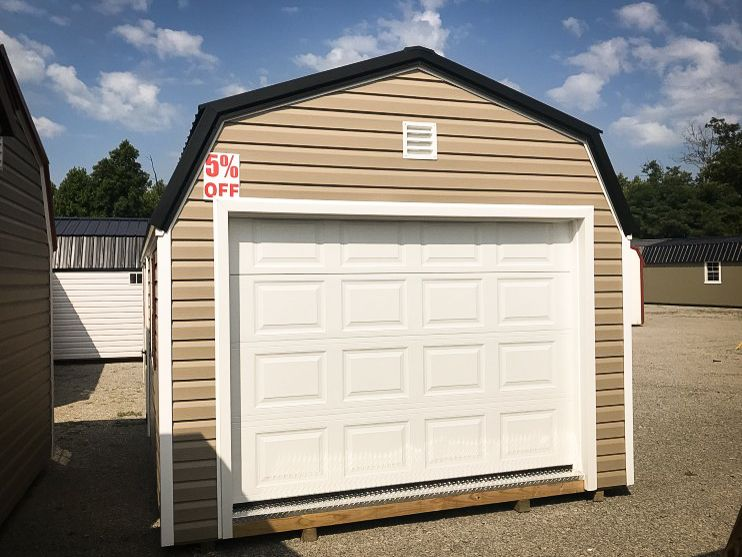 A portable garage shed for sale in McKenzie, TN